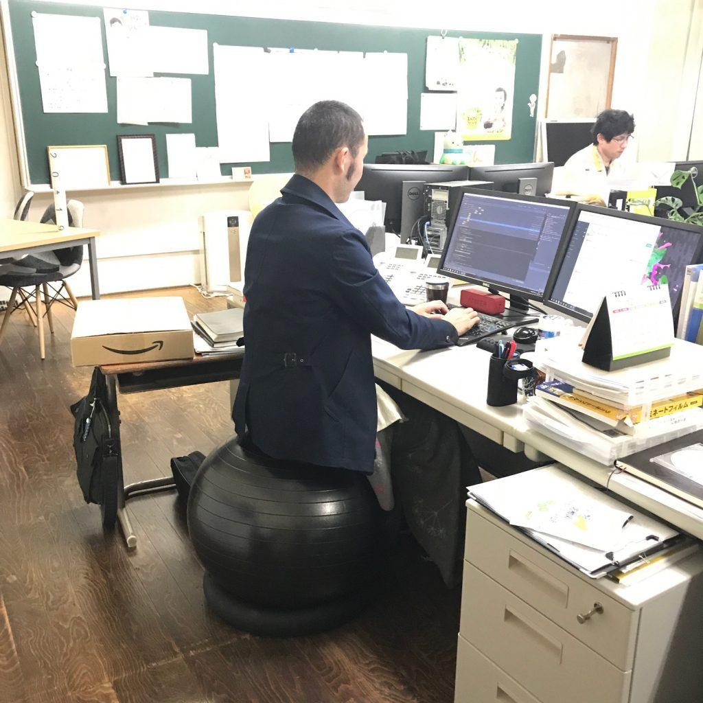 椅子 バランス ボール